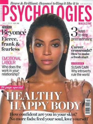 THERAPIE featured in Psychologies